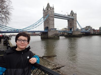 First trip to London