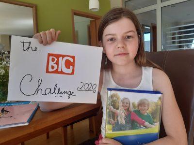 Iserlohn, Gymnasium an der Stenner, Lina Tietz ist Teilnehmerin der Big Challenge 2020