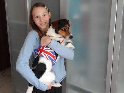 Nürnberg Sigmund Schuckert Gymnasium  Ich und mein Jack Russell Terrier Mailo