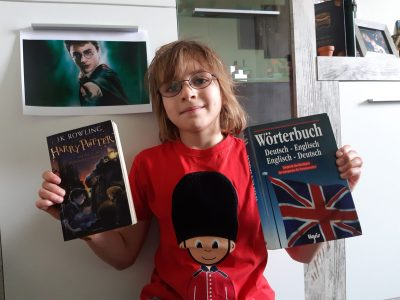 """Bergen auf Rügen Regionale Schule """"Am Rugard""""  I´m Vincent and I like Great Brittain and Harry Potter.                       Goodbye"""