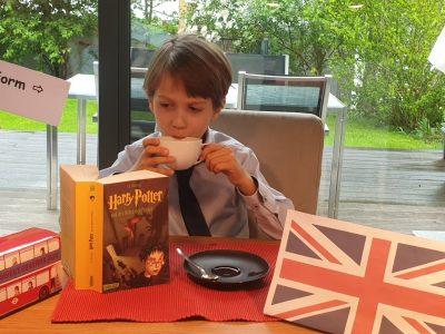 Landshut, Hans-Leinberger-Gymnasium, Tea Time with Harry Potter