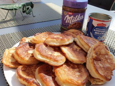 Dassel, Paul-Gerhardt-Schule-Dassel Wir haben leckere Pancakes gegessen