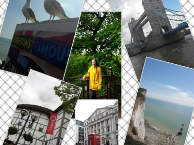 Leipzig, Thomasschule. Here is the photo collage I made myself. I like taking photos and filming.