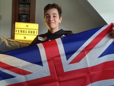 """Dortmund, Helene-Lange-Gymnasium. Comment: """"Greetings to England from Dortmund! :-)"""""""