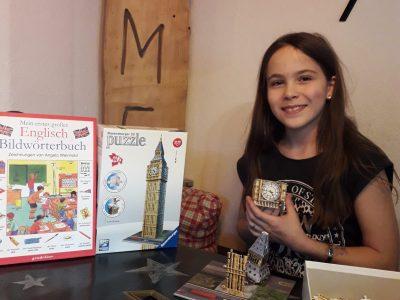 Stadt: Traunstein Schule: Reiffenstuel Realschule Traunstein  Big Ben 3D-Puzzle in progress