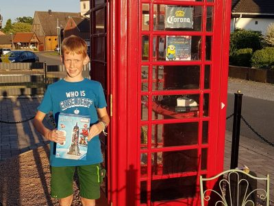 Werl, Mariengymnasium  Look at these nice telephone box in Welver-Scheidingen!