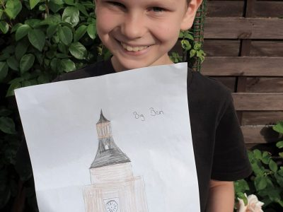 Marl Gymnasium im Loekamp  Ein Wahrzeichen von London, Big Ben