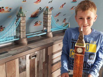 Kalkar, Städtische Realschule Kalkar Ich liebe England, vor allem die Tower Bridge und Big Ben.
