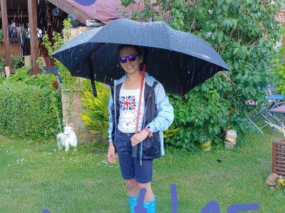 LAATZEN Erich Kästner Gymnasium . Typisch Englisches Wetter. Die challenge hat riesiegen Spaß gemacht ich mache nächtes Jahr wieder mit.