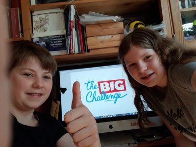 """Wir machen seit letztem Jahr """"The Big Challenge""""! Es ist eine große Herausforderung, die wir mit Freude bezwingen.  Hessen,Kassel,Engelsburg_Gymnasium"""