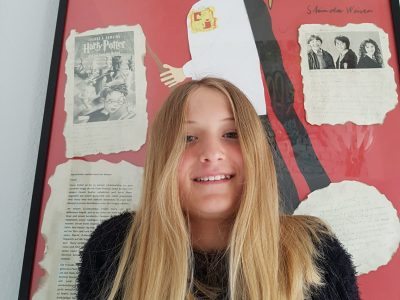 Rastede, KGS Rastede Ich lese in der Corona Zeit gerne Harry Potter!