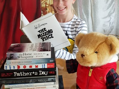 "Westerburg, Konrad-Adenauer-Gymnasium ""Stay at home with english books"""
