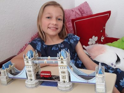 I have a dream. Some day I would like to visit London!                                                                                                                                                                                                                                                                                                                                            Maja from Berlin
