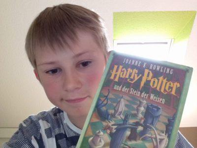 Schwarzenberg, Bertolt-Brecht-Gymnasium, Jonas Neubert Kl.6c größter Harry Potter Fan