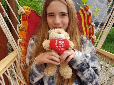 Wassenberg, Betty-Reis Gesamtschule Diesen Bären habe ich von meiner großen Schwester aus London mitgebracht bekommen, als sie dort zur Abschlussfahrt war