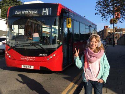 Magdeburg, Norbertusgymnasium Beim Besuch meiner Freundin Ann in London war sogar das Wetter toll !