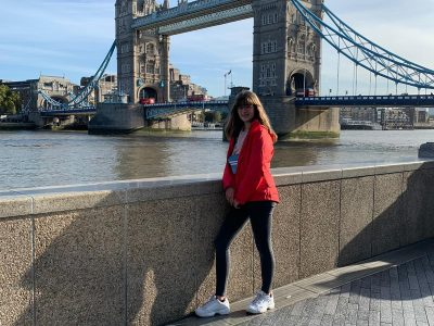 Schule am Limberg, Wallerfangen ,  My first visit in London at the famous Tower Bridge, great experience.