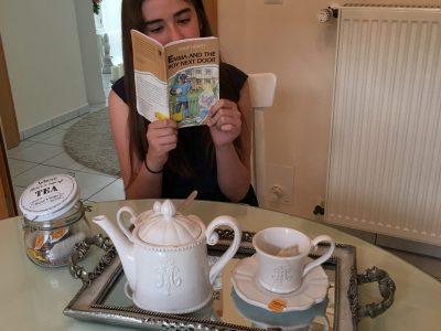 It's tea time after the Big Challenge!  Osnabrück Angelaschule M. Agapiou