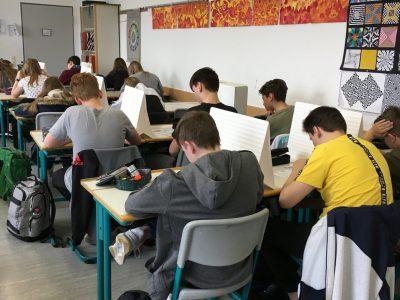 """Am Gymnasium """"Georgianum"""" in Hildburghausen nahmen alle Schülerinnen und Schüler der Klassen 5 bis 9 an der Big Challenge teil."""
