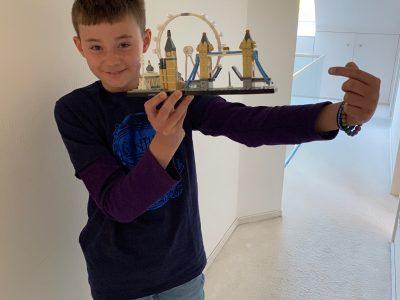 Aachen, Inda-Gymnasium  London als Legoversion