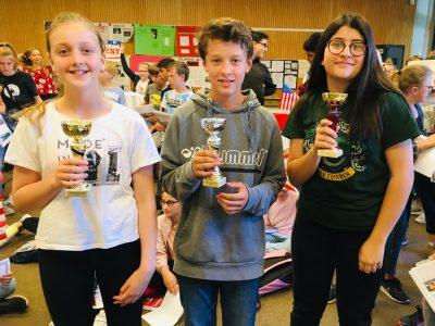 Bremen-Oberschule Habenhausen Unsere drei Besten (Jg 5, 6 und 8) *Congratulations*
