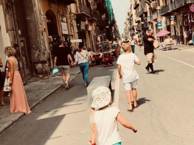 War in der schönsten Stadt von Spanien in Mallorca mit meiner Familie