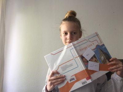 Hannover Leonie Koß IGS Mühlenberger Klasse 5H . Das bin ich bei Englisch