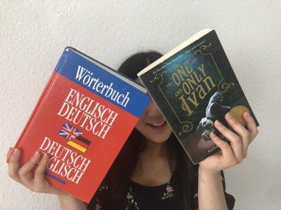 Hagen (NRW) / Ricarda-Huch-Gymnasium : War bisschen schwer zu halten aber ich mag die Bücher!