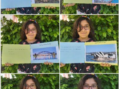 Ahlen(NRW) Städtischen Gymnasium  das ist mein Projekt über Australien und ihre berühmten Orte