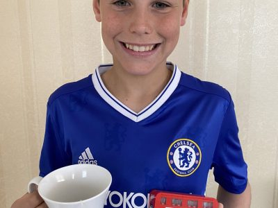 For me, the Chelsea football club, tea and the famous red, double-decker buses are typically English.