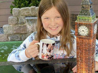Hallo ich bin Sydney und ich möchte mit der neuen Kamera nach London :)  Gesamtschule Rhede