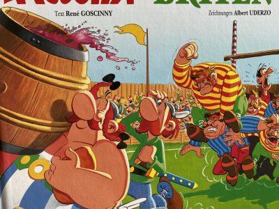 Berlin, Papageno-Grundschule  my favorite comic ;)