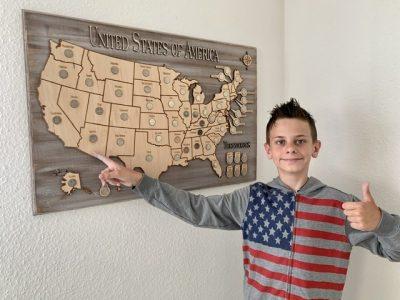 """""""Ich bin in Amerika geboren. Arizona werde ich für immer im Herzen haben."""" IGS Kastellaun"""