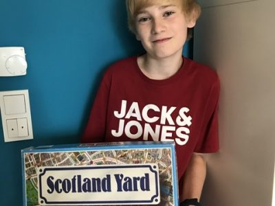 Städt. Gesamtschule Rheda-Wiedenbrück  Scotland Yard gehört zu meinen Lieblingsspielen