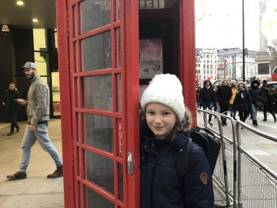 Ludwigsgymnasium München Anne Fréchette 5c  Ich in London nach einem Anruf