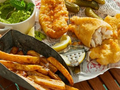 Stadt: Hechingen Name: Dominik Keil  Bild: fish and chips (England)