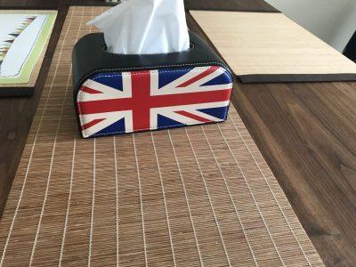 Ich komme aus Essen, Gymnasium- Essen-Werden.  Diese Englische Flagge erinnert mich an meinen Urlaub in London mit meinen Eltern.Leider können wir jetzt in Corona-Zeiten nicht mehr reisen.