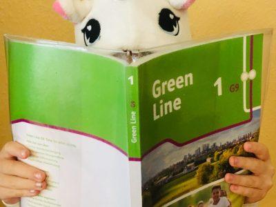 """""""Unicorn learns English"""" (Charlotte G.) Essen  Gymnasium-Essen-Werden"""