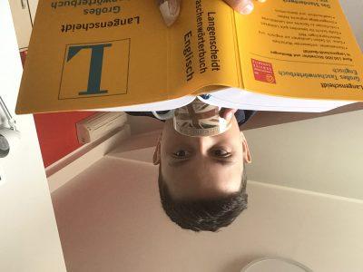 Dortmund  Heinrich-Heine-Gymnasium  Tim Paßmann  In diesem Bild möchte ich ihnen zeigen, wie man gut Vokabeln lernen kann.