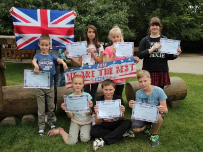 Frankfurt(Oder) Grundschule Lenné Glückwunsch den Gewinnern aus Klasse 5b