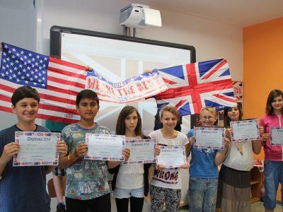Frankfurt(Oder) Grundschule Lenné Glückwunsch den Gewinnern aus Klasse 6b 2016
