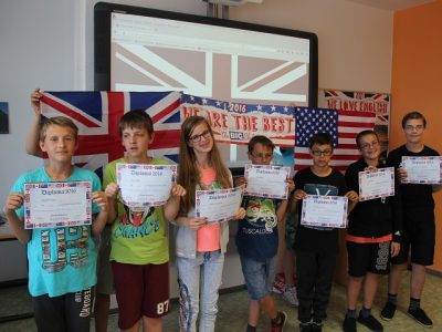 Frankfurt(Oder) Grundschule Lenné Die Gewinner aus Klasse 6a 2016
