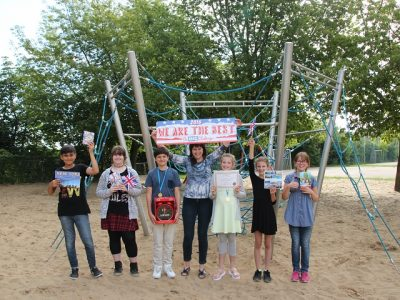 Frankfurt(Oder) Grundschule Lenné Thanks to our English teacher for 2016