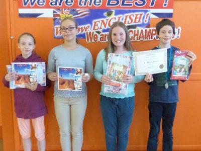 Zum ersten Mal dabei und so stolz! SchülerInnen der Klasse 5 des Landesgymnasiums für Musik, Wernigerode