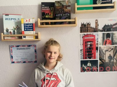 Leipzig, Thomas Schule Kommentar: me and my little inspirational english corner :)