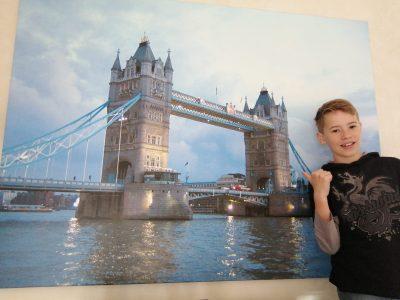 Joseph-König-Gymnasium Haltern am See  Das ist unser Bild der Tower-Bridge in London. Es hängt bei uns im Wohnzimmer.