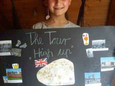 """SAALFELD HEINRICH-BÖLL-GYMNASIUM Das ist meine London-Tour """"High Up"""" für meine Klasse 6A."""