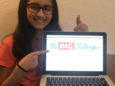 Stadt:Leverkusen           Name der Schule: Theodor-heuss-Realschule  I chose the big challenge logo because it was really fun. I love English. Everybody can do this Challenge even though they not so good in English. See you again next year.