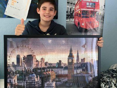 """Frankenthal, Albert-Einstein-Gymnasium """"London is a great city!"""""""