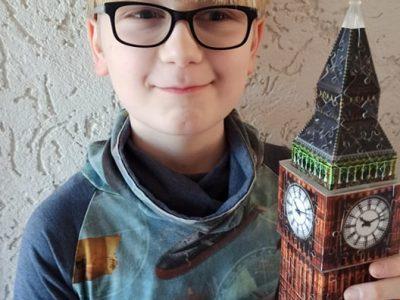Werl, Mariengymnasium Bald dongt auch der Big Ben wieder!